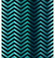 Dark turquoise gradient chevron seamless pattern vector image