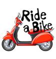 Ride a Bike vector image