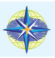 compass star vector image