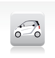 small car icon vector image vector image