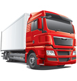 large modern waggon vector image vector image