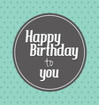 birthday card2 vector image