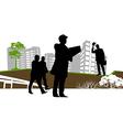 businessman graphic vector image