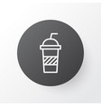 soft drink icon symbol premium quality isolated vector image