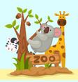 animal zoo vector image