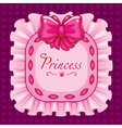 princess pillow pillow pink vector image