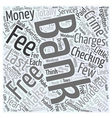 Bank Charges that are a Crime Word Cloud Concept vector image