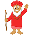religious leader cartoon for you design vector image