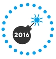 2016 Petard Icon vector image