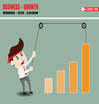 Accelerate business growth vector image