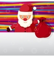 Merry Christmas and Happy New Year greeting card - vector image