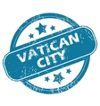VATICAN CITY round stamp vector image