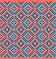 ethnic rhombus seamless pattern vector image