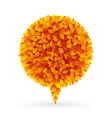 autumn bubble vector image vector image