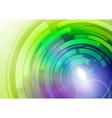 wheels blue green vector image vector image