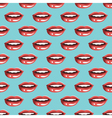 Cosmetics and makeup seamless pattern vector image