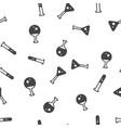 flasks seamless pattern vector image