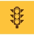 The traffic light icon Stoplight and semaphore vector image