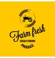 farm fresh design background vector image