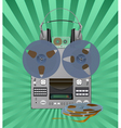 recording equipment vector image