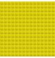 Yellow Pattern Tetrahedral Mosaic vector image