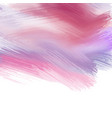 Paint strokes background vector image