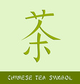 Chinese tea symbol vector image