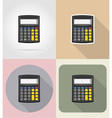 business and finance flat icons 01 vector image