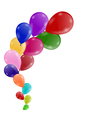 Bunch of balloons vector image