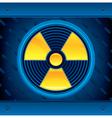 Radioactive vector image