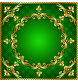 green background a frame vector image