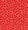 Seamless Pattern with Hearts Background for vector image
