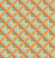 Abstract geometrical pattern retro background vector image