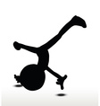 cartwheel vector image