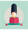 Royal Guard icon vector image