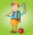 Gold Miner vector image vector image