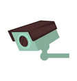 night club security surveillance camera vector image