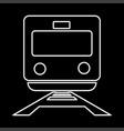 train it is icon vector image