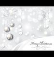 elegant light christmas vector image vector image