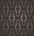 Seamless vintage wallpaper vector image