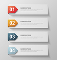 paper infographic63 vector image