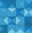 Abstract square blue background vector image vector image