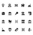 Amusement Park Icons 2 vector image