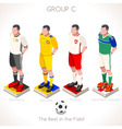 EURO 2016 Championship GROUP C vector image vector image