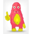 Funny Monster Trust vector image vector image