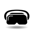 VR headset vector image