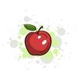 Bright Juicy Apple vector image