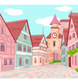 Little Europe town vector image