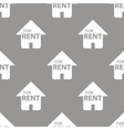 For rent seamless pattern vector image