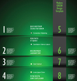 Modern GREEN Design Template vector image